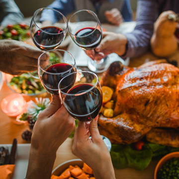 wine pairing for thanksgiving
